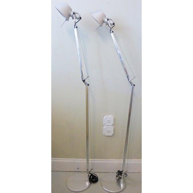 Artemide Tolomeo Floor Lamps - A Pair - Image 2 of 9