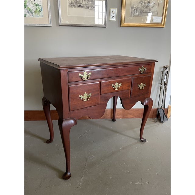 19th Century Queen Anne Style Solid Mahogany Chest With Cabriole Legs For Sale - Image 13 of 13