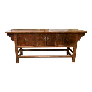 Antique Asian Sideboard, Credenza