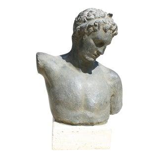 Vintage Greek Male Bust