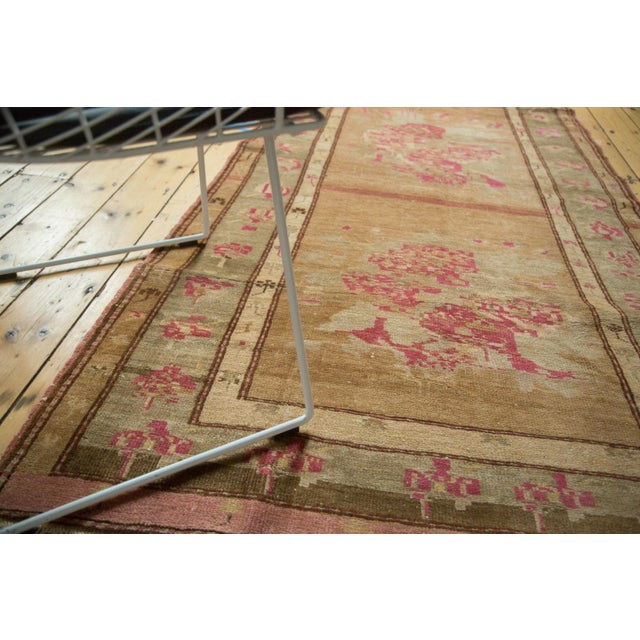 "Islamic Vintage Oushak Rug - 4' x 7'6"" For Sale - Image 3 of 10"