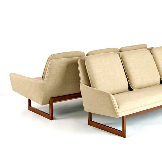 Jens Risom Jens Risom, Pair of Sofas, Circa 1960's For Sale - Image 4 of 10