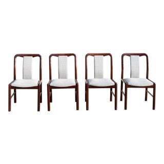 Danish Rosewood Dining Chairs – Set of 4 For Sale