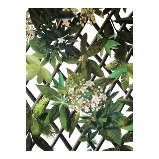 Christian Lacroix for Designers Guild Canopy Fabric- 3 1/2 Yards For Sale