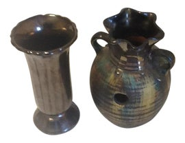 Image of Charcoal Vessels and Vases