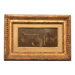 Late 19th Century Antique Reputed Whistler Nocturne Study Painting For Sale