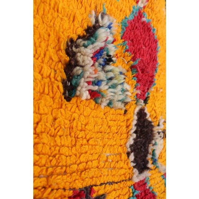 "Vintage Azilal Moroccan Berber Rug - 3'1"" x 3'10"" - Image 2 of 2"