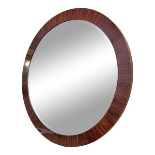 Century Round Wall Mirror For Sale