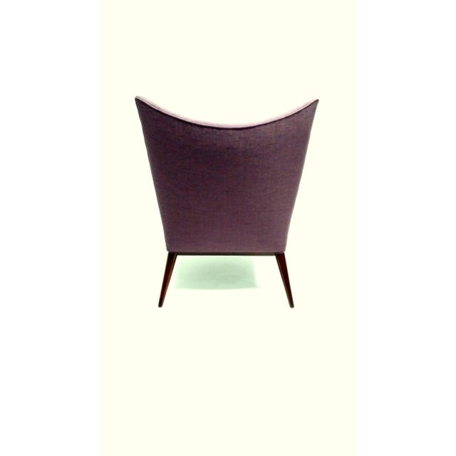 1950s 1950s Vintage Paul McCobb for Directional Fully Restored Lounge Chair For Sale - Image 5 of 8