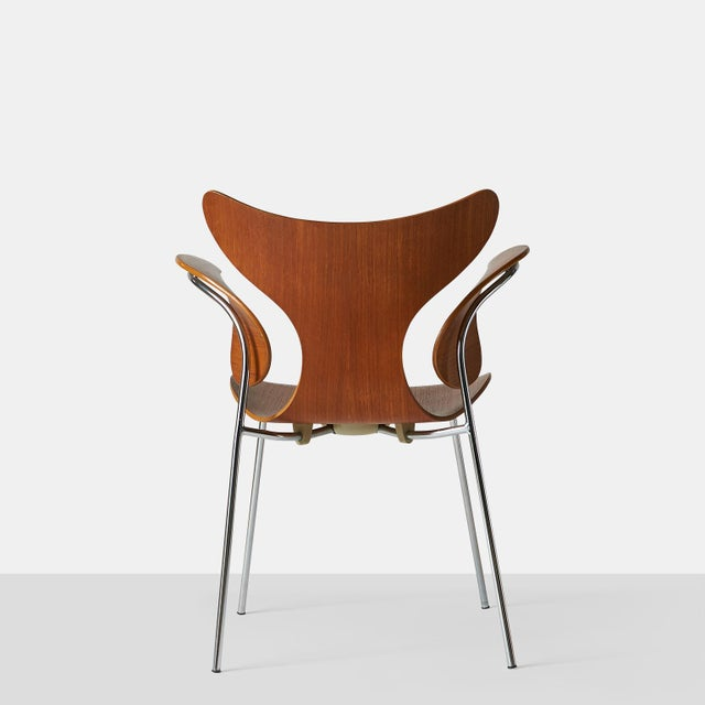 Arne Jacobsen, Armchair, the Lily, Model 3208 For Sale In San Francisco - Image 6 of 9