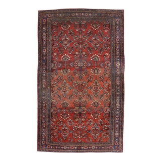 Antique Persian Mahal Oversize Gallery Rug