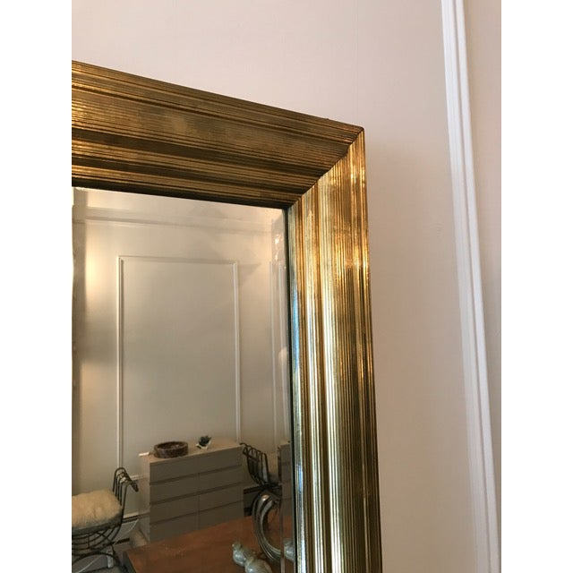 Brass Wrapped Bistro Mirror - Image 3 of 3