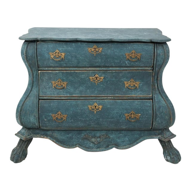 Dutch Blue Bombay Commode For Sale