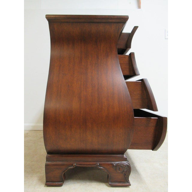 Ethan Allen Townhouse Bombay Chest French Dresser Console - Image 9 of 11