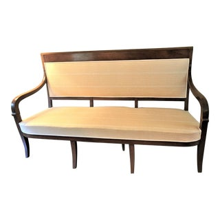 French Fortuny Upholstered Bench
