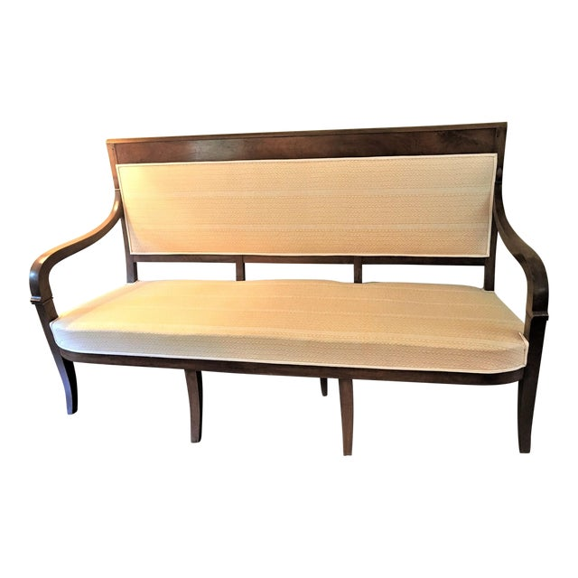 French Fortuny Upholstered Bench - Image 1 of 11