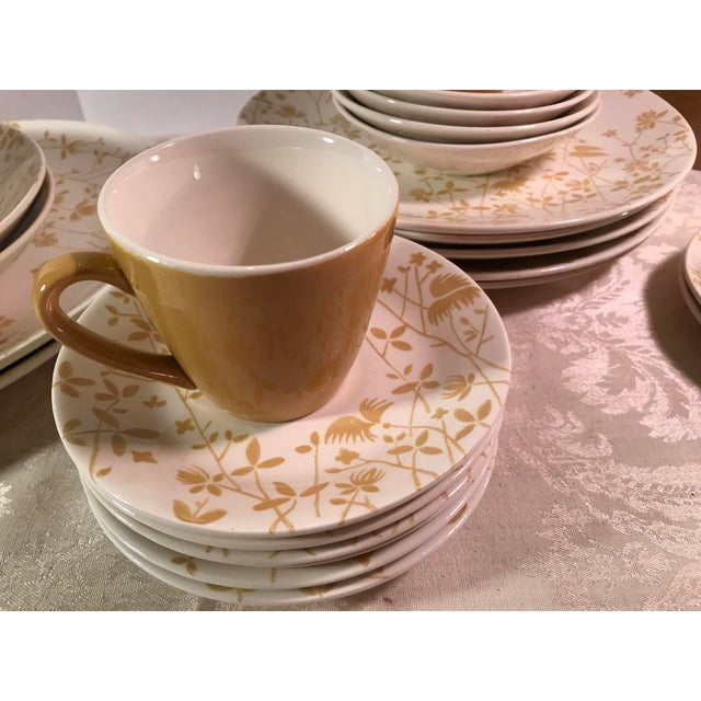 Sheffield Golden Meadow Ironstone Set - 30 Pieces For Sale In Dallas - Image 6 of 11