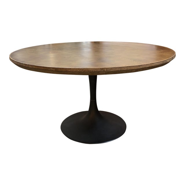 Four Hands Powell Pedestal Dining Table For Sale