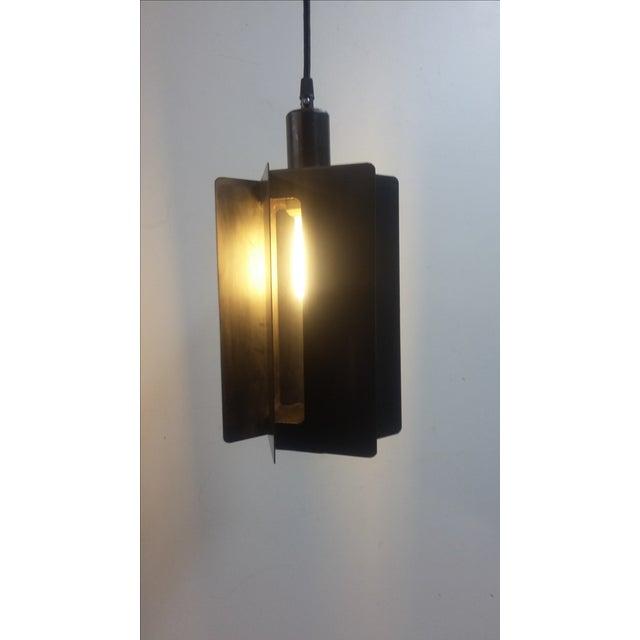 2010s Turbine Pendant Light For Sale - Image 5 of 5