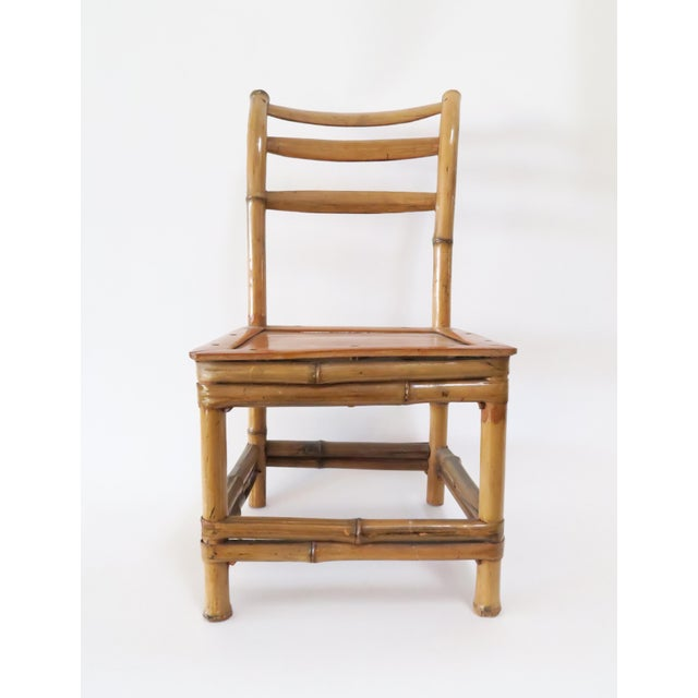 Child's Bamboo Chair - Image 3 of 7