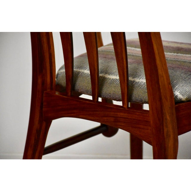 Brown Dining Chairs by Niels Koefoed for Hornslet - Set of 8 For Sale - Image 8 of 12