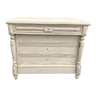 French Painted Louis Philippe Commode
