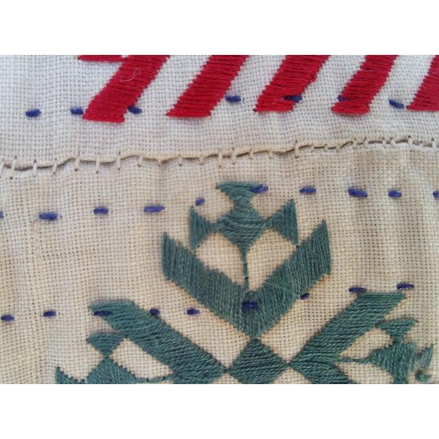 Vintage Banjara Fragment Pillow For Sale - Image 5 of 6