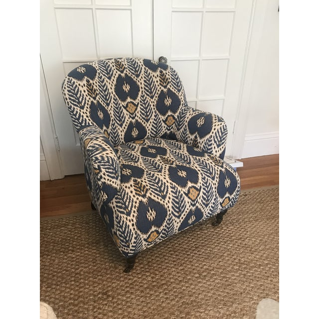 Upholstered Arm Chair For Sale In San Francisco - Image 6 of 6