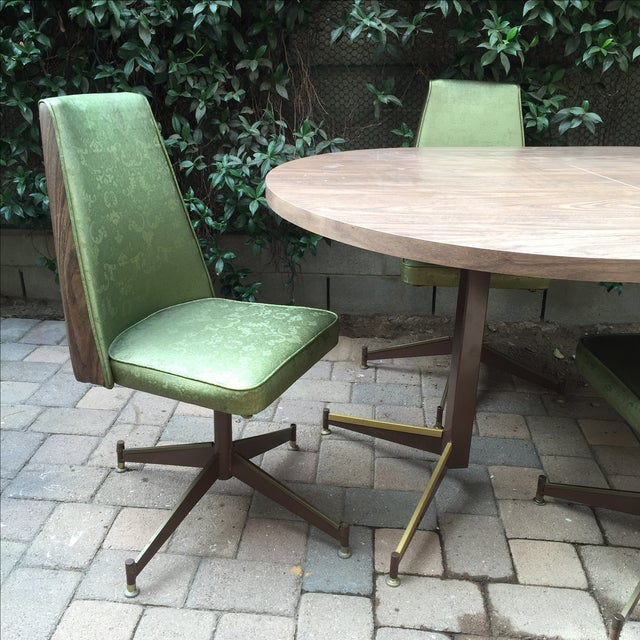 Mid-Century Modern Mid-Century Modern Walter of Wabash Dining Set For Sale - Image 3 of 7