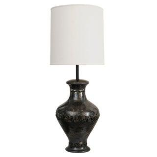 Mid Century Italian Signed Marcello Fantoni Sculptural Table Lamp For Sale