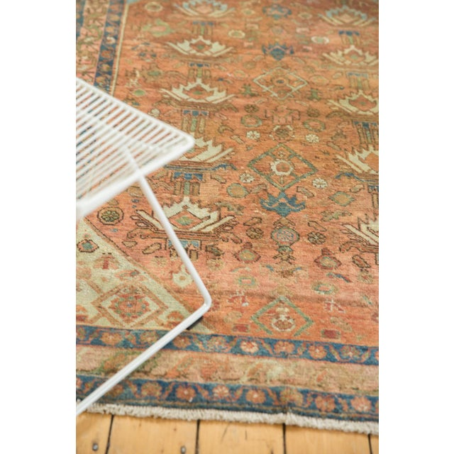 """Islamic Vintage Distressed Malayer Rug - 4' X 6'1"""" For Sale - Image 3 of 13"""
