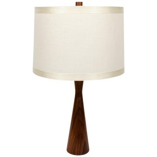 Mahogany Table Lamp For Sale