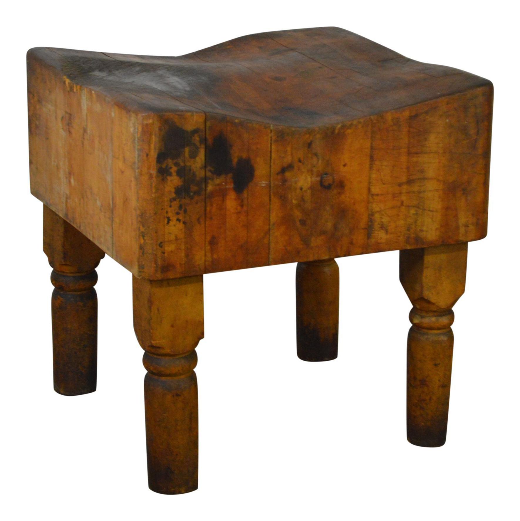 antique vintage butcher block table vintage  u0026 used kitchen islands  u0026 butcherblocks   chairish  rh   chairish com