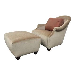 RJones Meridian Lounge Chair & Ottoman