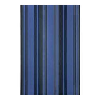 Farrow & Ball Tented Stripe Deep Blues Wallpaper - 2 Rolls