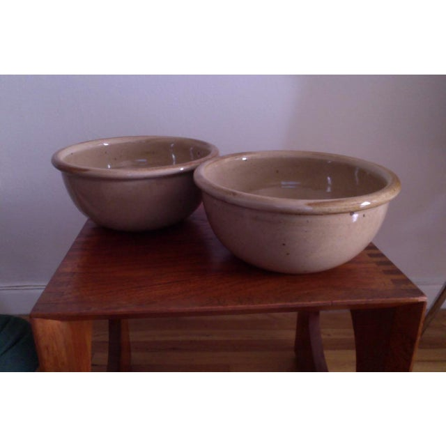 "Dansk ""BLT"" Spice Tan Serving Bowls - A Pair - Image 6 of 6"