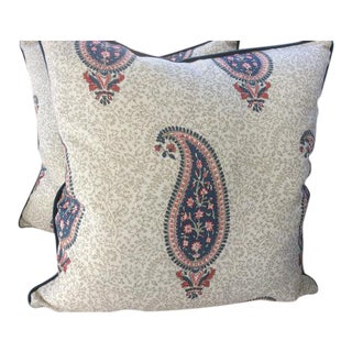 Alessandra Branca for Schumacher Pillow Covers - a Pair For Sale