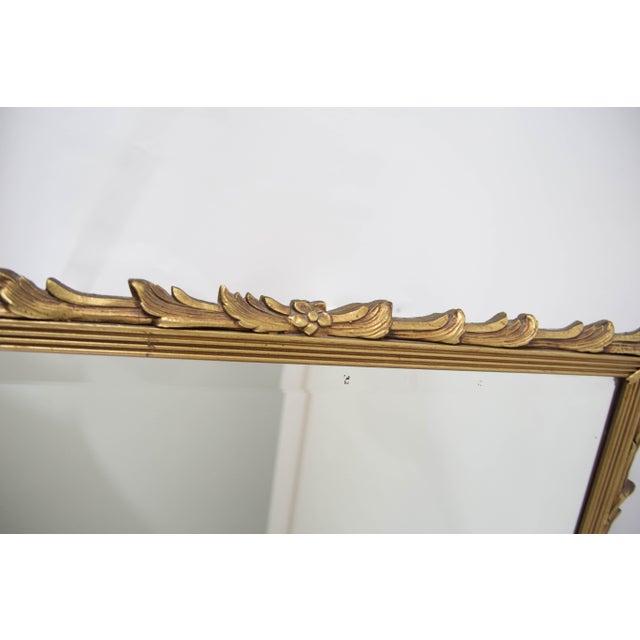 Antique Art Noveau Mirror - Image 7 of 9