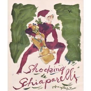 Matted Mid-Century Perfume Print-Schiaparelli For Sale