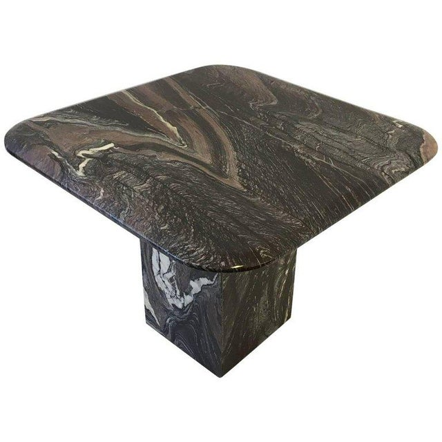 Italian Marble Side Table For Sale - Image 10 of 10
