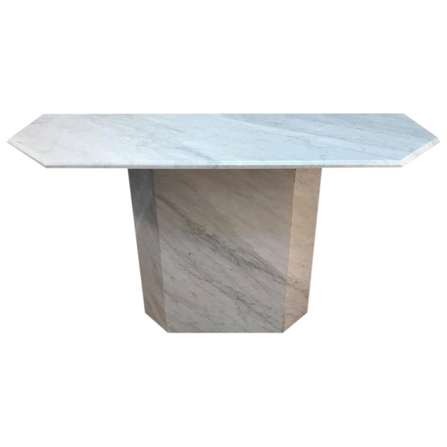 Italian Modern Carrera Console Table - Image 1 of 8