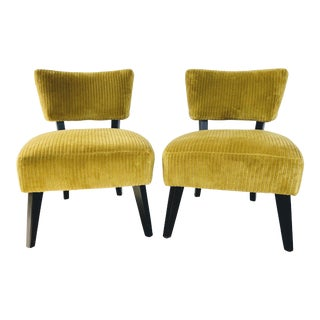 Lee Industries Chairs- A Pair For Sale