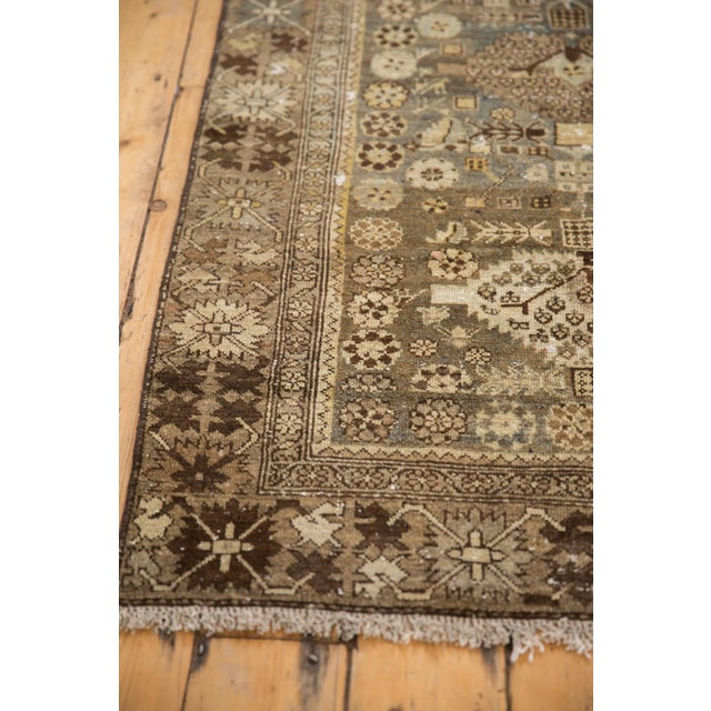 """Boho Chic Vintage Distressed Malayer Rug - 3'3"""" X 4'7"""" For Sale - Image 3 of 11"""