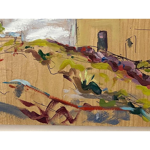 2010s Abstract Expressionist Original Oil Painting by Rebecca Dvorak – Virginia Museum of Fine Arts, Robinson House For Sale - Image 5 of 12