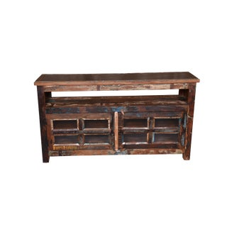 Contemporary Tracy Marble Top Media Cabinet