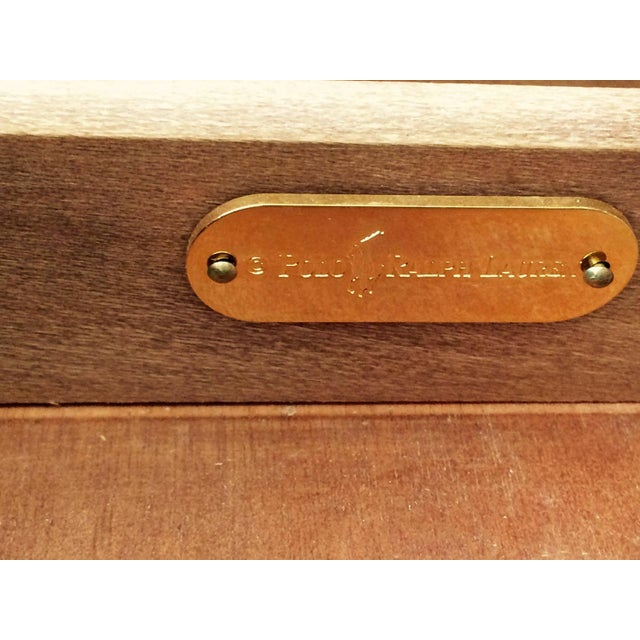 Mahogany & Leather Ralph Lauren Desk - Image 6 of 6
