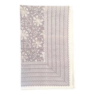 European Handmade Block Print Tablecloth