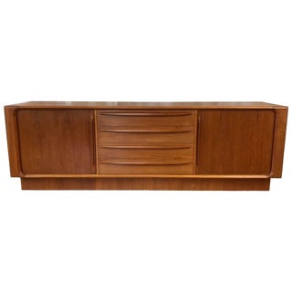 20th Century Danish Modern Bernhard Pedersen & Son Teak Credenza/Dresser For Sale