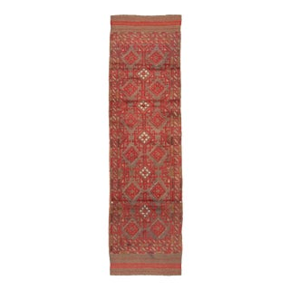 "Afghan Tribal Wool Runner-2'1"" X 8'2"" For Sale"