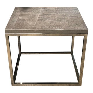 Contemporary Century Furniture Side Table For Sale